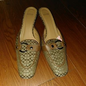 Gently used Coach shoes